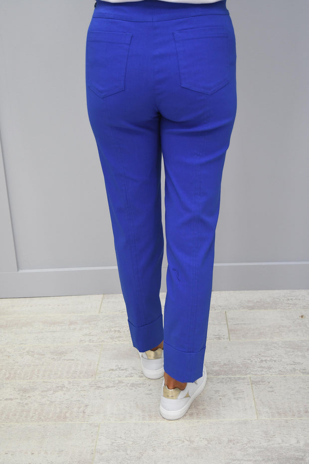 Robell Bella Trousers Blue - 51568 5499 67