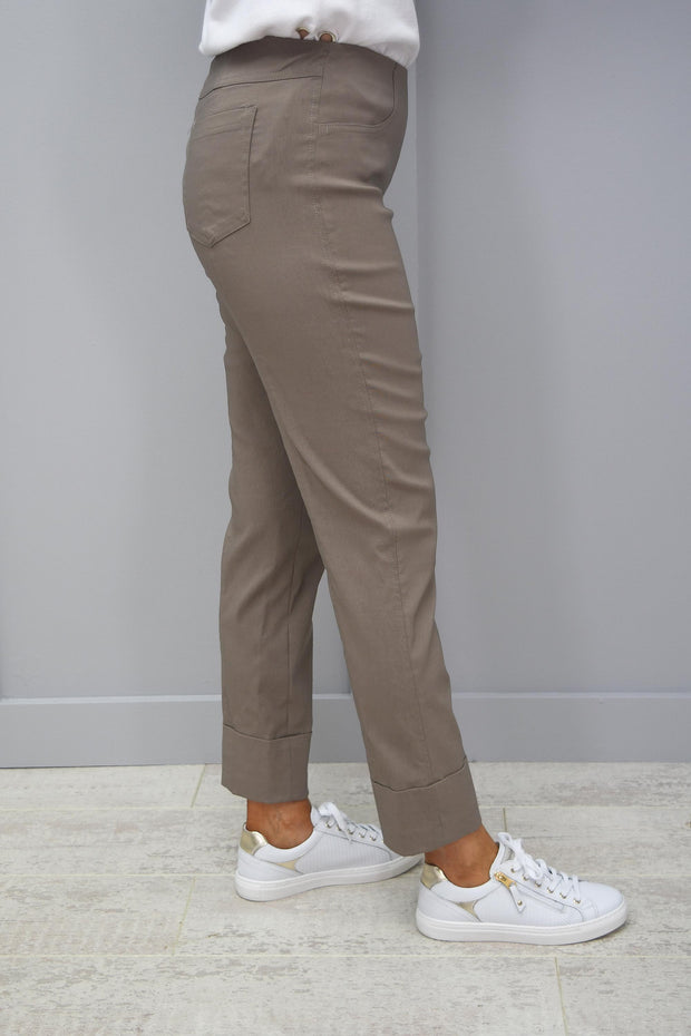Robell Bella Coffee Trousers - 51568 5499 17