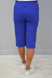 Robell Bella Blue Shorts- 51625 5499 67