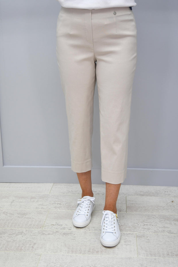 obell Marie Beige Cropped Trousers - 51576 5499 14