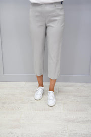 Robell Marie Cropped Trousers Sliver Grey - 51576 5499 92