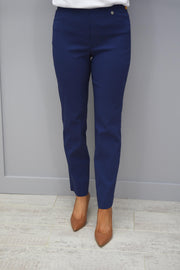 Robell Marie Full Length Trousers Air Force Blue 68- 51412 5499 68