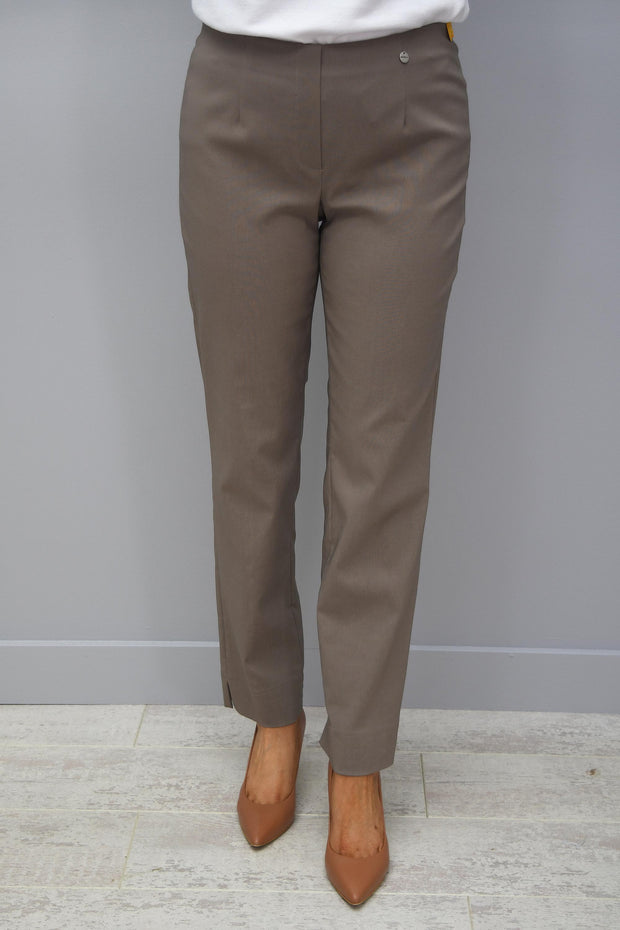 Robell Marie Full Length Trousers Taupe 17 - 51412 5499 17