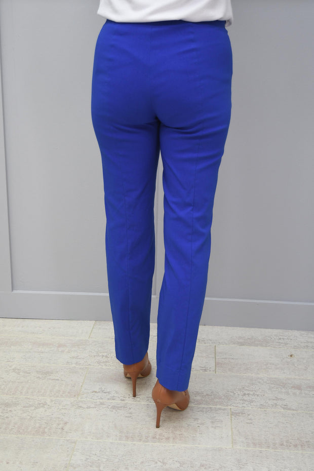 Robell Marie Full Length Trousers Blue 67 - 51412 5499 67