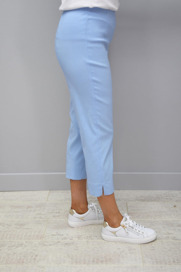 Robell Marie Maya Blue Cropped Trousers - 51576 5499 610