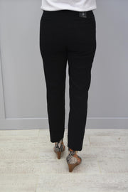 Robell Bella Black Trousers - 51568 5499 90
