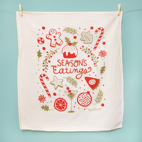 Seasons Eatings Holiday Dish Towel