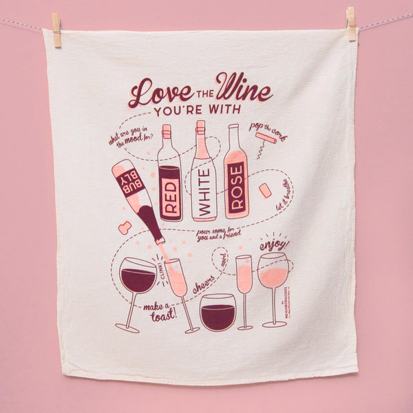 Wine Dish Towel