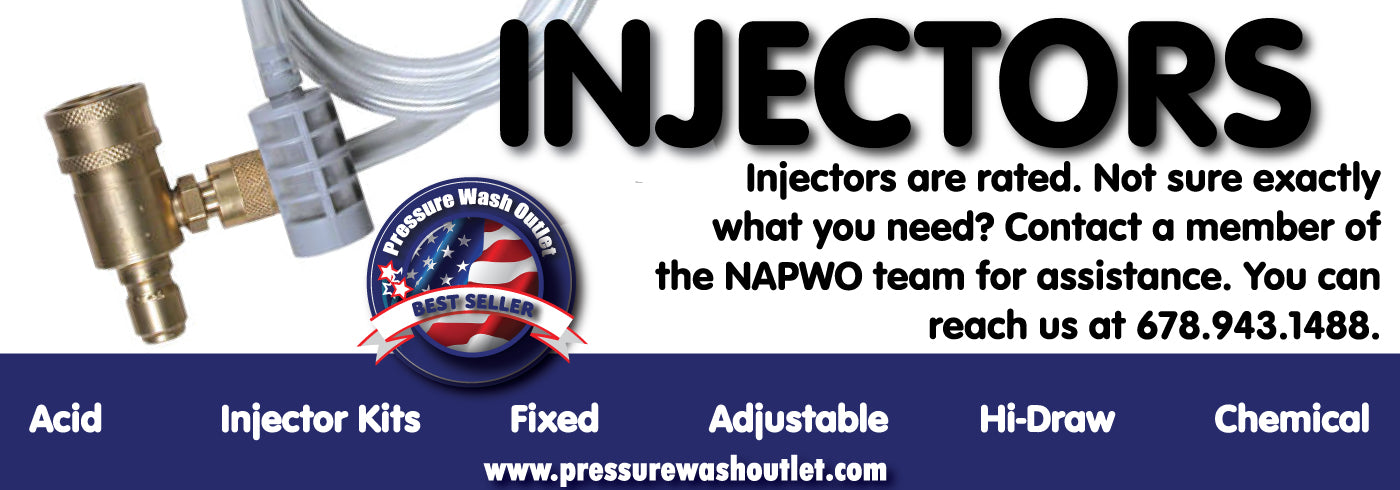 FIXED CHEMICAL INJECTORS