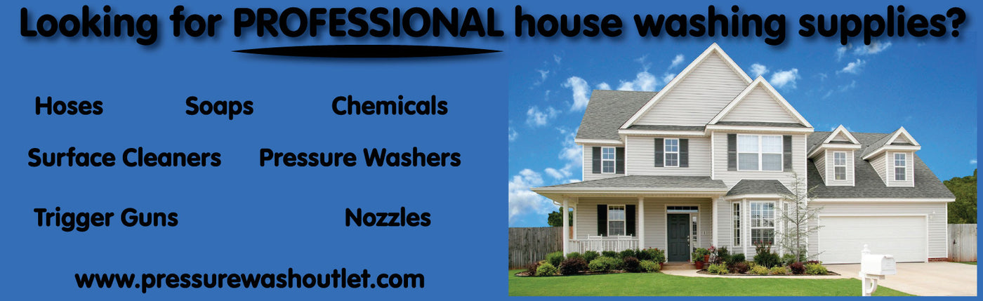 HOUSE WASHING SOAPS & CHEMICALS