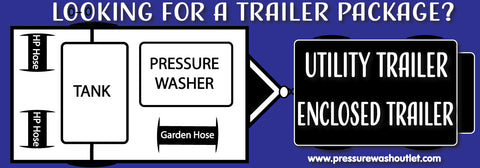PRESSURE WASH TRAILER RIGS