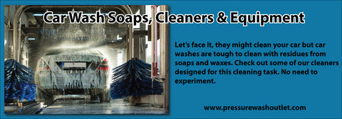 CAR WASH SOAPS & CHEMS & EQUIPMENT