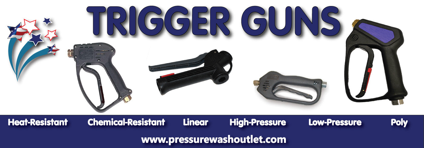 CHEMICAL RESISTANT TRIGGER GUNS