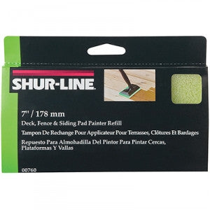 "(8707) SHUR-LINE 7"" PAD PAINTER REFILL - CASE OF 10"