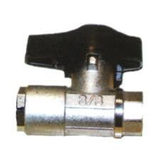 (6293) BALL VALVE 3050PSI 1/2 FPT NICKEL PLATED