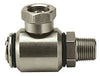 "(2295) ADAMS SWIVEL S.S.90 DEG 3/8"" M/F 5000PSI"
