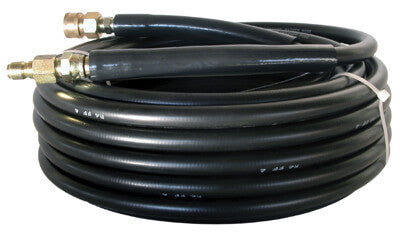 "(4907) HP COMPONENTS BLACK 5800 PSI 3/8""x50' WRAPPED HOSE"