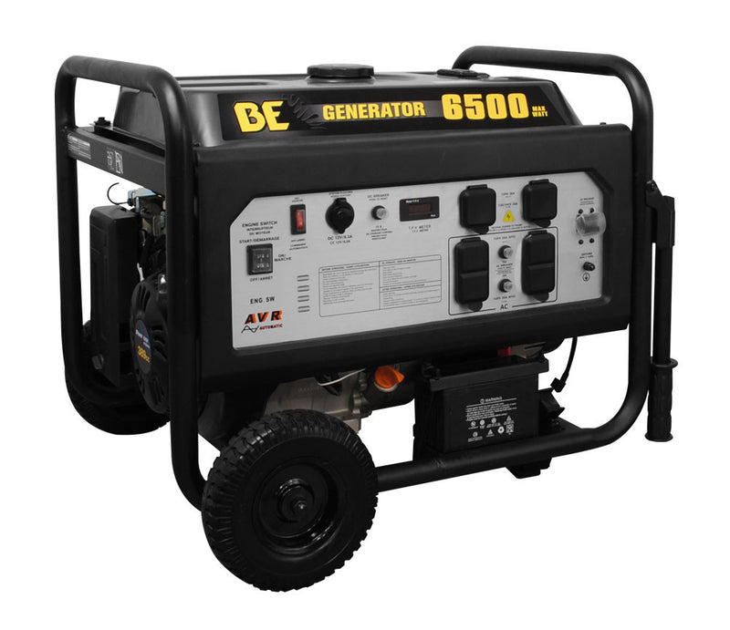 (7403) BE-6500 ER 6500 WATT ELECTRIC GENERATOR