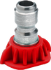 GP QC 0010  Red Head Pressure Wash Nozzle
