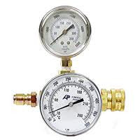 (3509) PRESSURE & TEMPERATURE TEST GAUGE, 400 F 3000 PSI