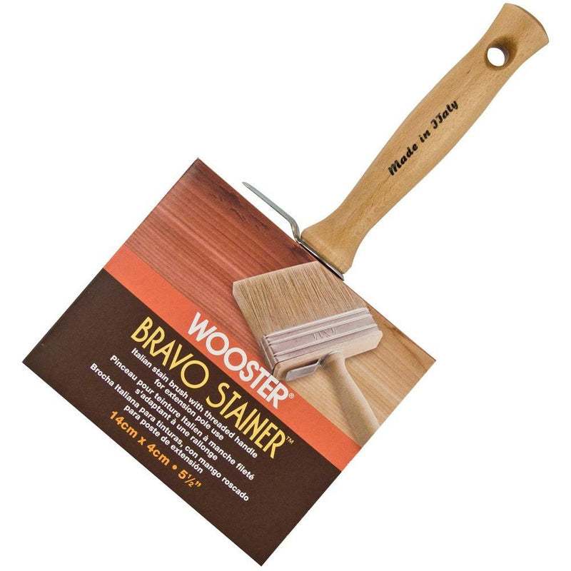 (7092) WOOSTER BRAVO STAIN BRUSH 5 1/2""