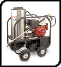 (7657)  4 GPM 4000 PSI ALKOTA HOT WATER PORTABLE POWER WASHER