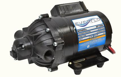 (9097) 7.0GPM 12V EF7000 EVERFLO DIAPHRAGM PUMP