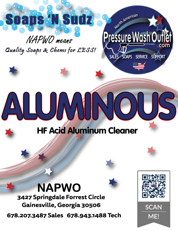ALUMINOUS SUPER CONCENTRATE HF ACID CLEANER