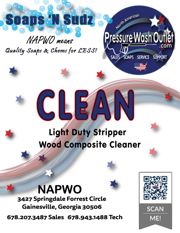 CLEAN Wood Composite Cleaner