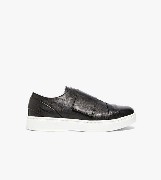 Achilles Ion Gabriel Velcro Leather Sneakers