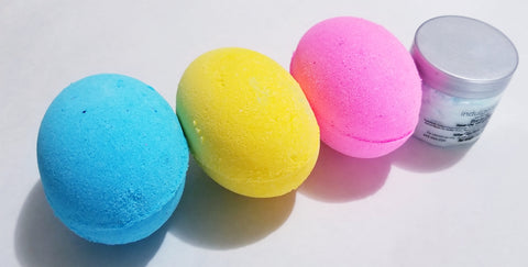 5 oz Easter Egg Bath Bombs