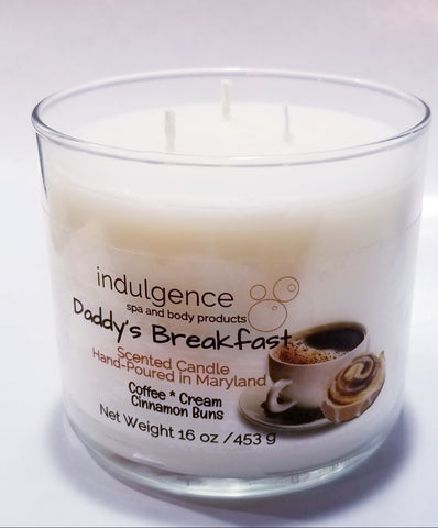 Daddy's Breakfast 3-Wick 16 oz Candle