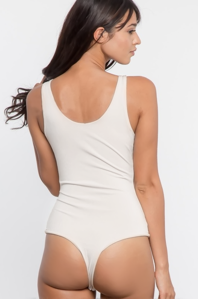 Basic Bodysuit - White - House of W