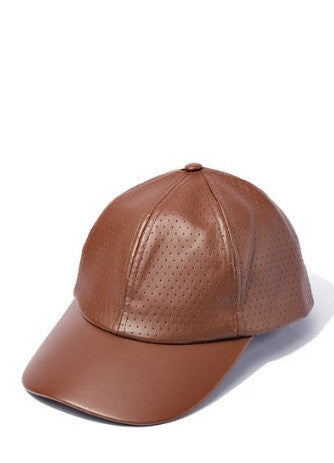 Cognac Ball Cap - House of W