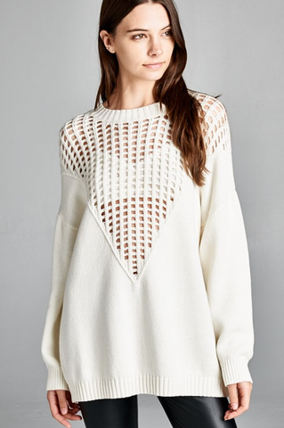 Mesh That Sweater - House of W