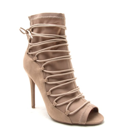 Boujee Nude Bootie - House of W