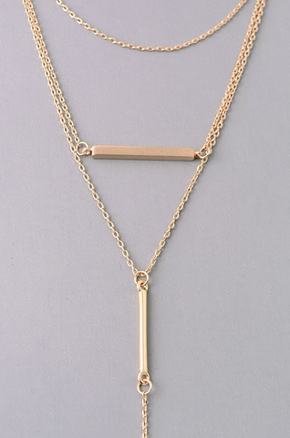 Aria Gold Necklace - House of W
