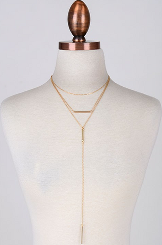 Aria Gold Necklace
