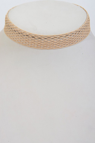 Nude Mesh Choker - House of W
