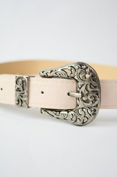 Fawn Double Buckle Belt - House of W
