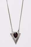 Triangle Pendant Necklace - House of W