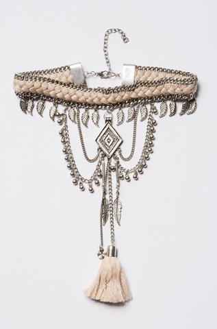 Boho Braid Necklace - House of W