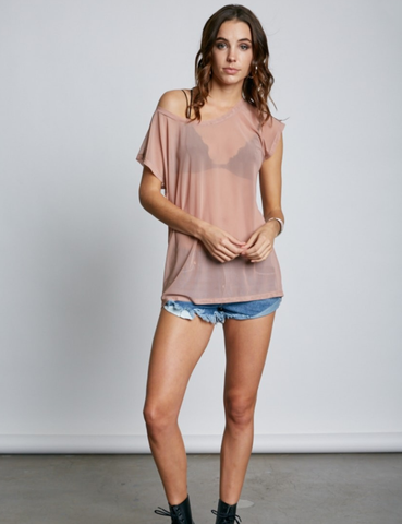 Sonar Sheer Top