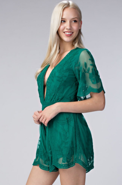 Emerald Isle Romper - House of W