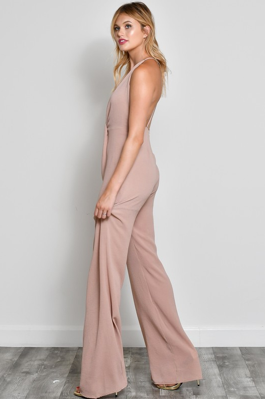 Taupe Dream Jumpsuit - House of W