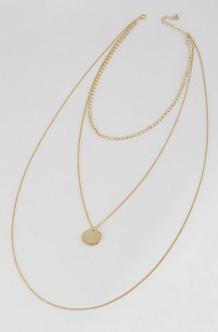 Santorini Necklace Set - Gold