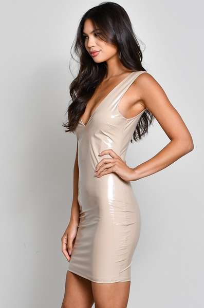 LAX Dress - Nude - House of W