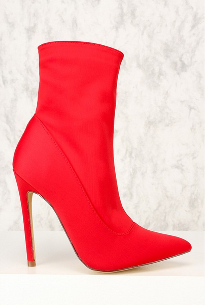 Baddie Red Bootie - House of W