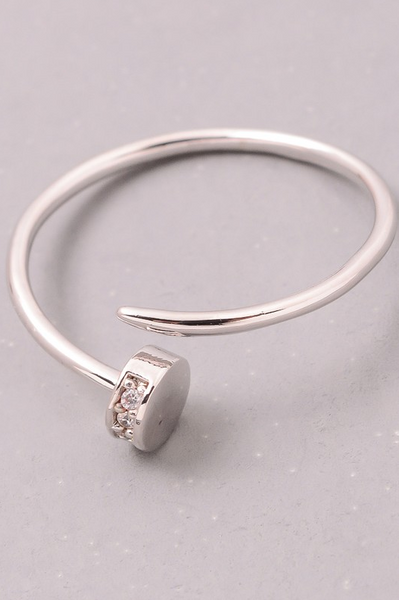 Nail Ring - Silver - House of W