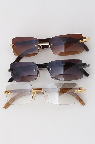 Vintage Rectangle Sunglasses - House of W